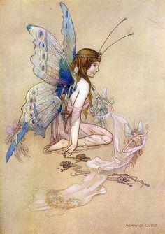 Fairy card given to me many years ago... I still treasure it.