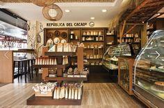República del Cacao, Quito - Ecuador.  Not really a coffee shop but a chocolate shop ;) #chocolate #Ecuador