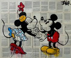 "Saatchi Online Artist Loui Jover; Drawing, ""kiss"" #art"