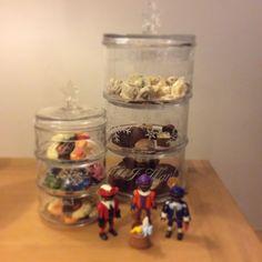 Sinterklaas 2014 Rivièra Maison Christmas Stackable Jar & Playmobil zwarte pietjes