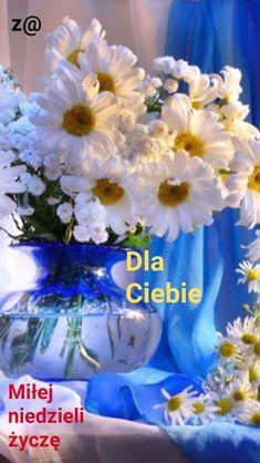 Hanukkah, Good Morning, Glass Vase, Table Decorations, Dan, Sunday, Album, Disney, Daisies