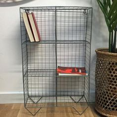 Wire Floor/Wall Shelving