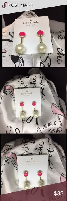 Kate♠️Spade Earrings Kate Spade Pearls of Wisdom kate spade Jewelry Earrings