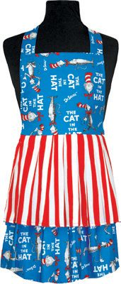 Cat in the Hat Kids Apron (ages 4-10)