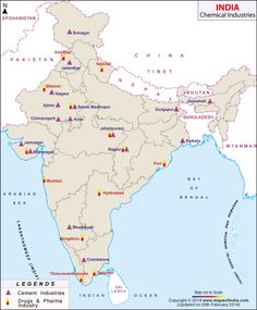 India Mineral Map | India | Pinterest | Minerals, India and