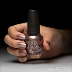 Press * for Silver This warm, rosy sliver really call to me. Starlight OPI Collections | OPI