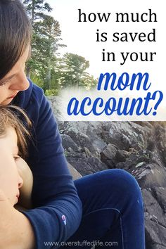 Being a mom takes a lot out of a girl. You've got to make sure that Mom Account is fully funded!  #overstuffedlife