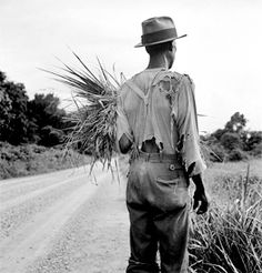 Dorothea Lange - a contrast to today when many of our poor are obese, have cell phones, televisions, air conditioning etc.