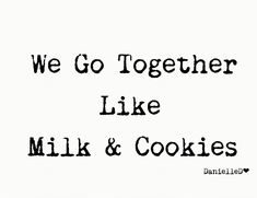 Milk Cookies, Yummy Cookies, Some Recipe, Recipe Box, We Go Together Like, Cake In A Jar, Winter Treats, Delicious Cookie Recipes, Food Themes