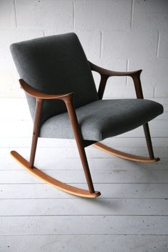Teak Rocking Chair by Ingmar Relling for Westnofa Norway 5