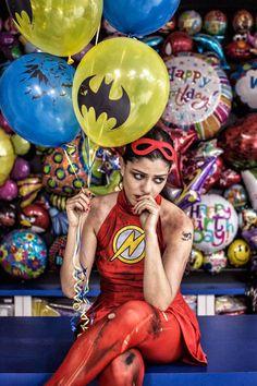 La magnifique sérieWe Can Be Heroes du photographeMartin Beck, basé actuellement à Dubai, qui s'amuse avec la notion desuper-héros pour capturer des p