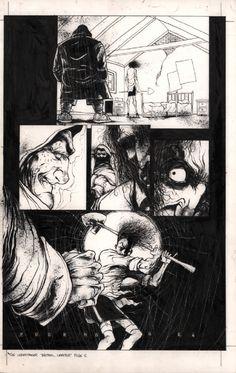 Ashley Wood- Cyclone Comics Quarterly Comic Art