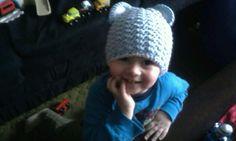 Bear hat for my boy