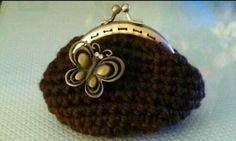 Monedero de crochet (Crochet coin purse)