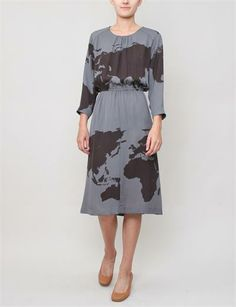 Love the print and colour but not the cut— A Dtacher Dominga Dress by Détacher Dominga