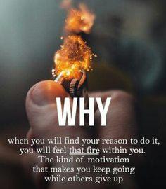 Feel that Fire | motivation