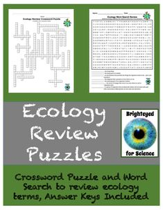 Genetics Review Crossword Puzzle   Brighteyed for Science ...