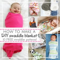 Learning how to make a swaddle blanket is easy when you have DIY instructions. One of these 10 free swaddle blanket patterns will be just what you need
