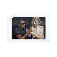 Kanye Taylor Horizontal Wall Decals