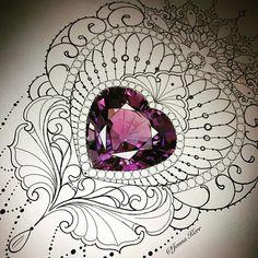 1,564 отметок «Нравится», 25 комментариев — ⚜️Jenna Kerr⚜️ (@jennakerrtattoo) в Instagram: «More jewels  which is not a bad thing at all  #lacetattoo #jeweltattoo #jennakerr #lacecuff…»