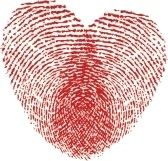Fingerprint Heart--I want this as a tattoo(mine and husband's thumb prints)