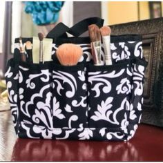 Thirty-one mini organizer... Use it to organizer your make-up and brushes.