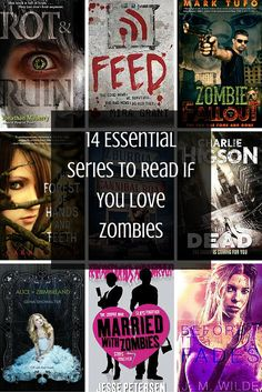 Love zombies and The Walking Dead? Don't miss these creepy books series.