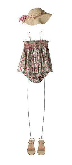 Little Girl's Summer Outfit - Bonpoint Boutique, Paris / bonpoint.com