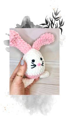 Easter Crochet Patterns, Crochet Patterns Amigurumi, Crochet Toys, Free Crochet, Knit Crochet, Crochet Octopus, Photo Processing, Amigurumi Toys, Easter Baskets
