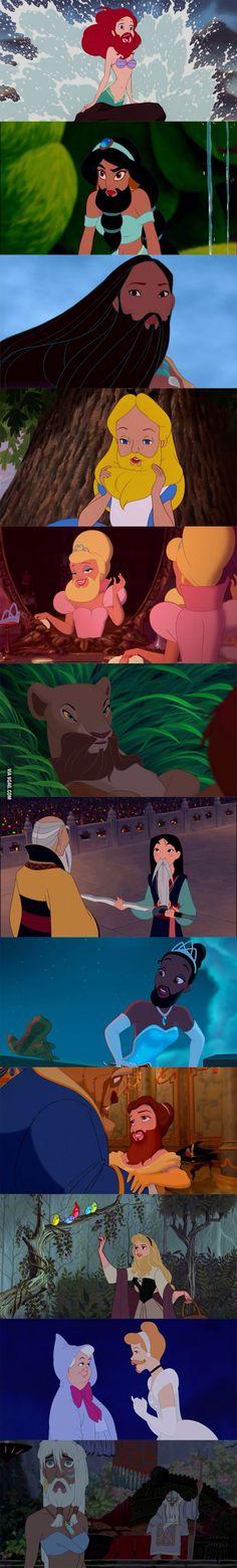 Disney + beards = amazing