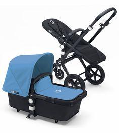 2017 bugaboo cameleon3 complete stroller - black frame/seat