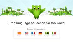 Duolingo es una excelente plataforma con la que podremos aprender Inglés, Francés, Alemán y Portugués gratis por Internet muy fácilmente.