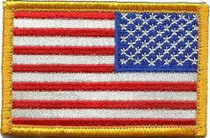 Tactical Reverse USA Flag Patch - Red White & Blue by Gadsden and Culpeper, http://www.amazon.com/dp/B0077DBMK0/ref=cm_sw_r_pi_dp_F3B.qb06BJXNQ