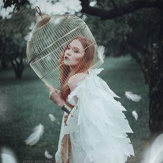 Fotógrafa Ucraniana dá vida aos Contos de Fada com majestosos retratos