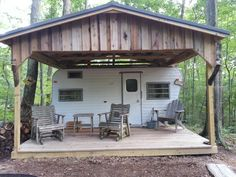 Our Deer Camp right on the farm! This is my family's hideaway.