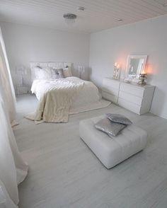 #inspiration #décoration #chambre #blanc #minimaliste #bedroom #white