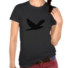 Bird Silhouette Tee Shirts #Bird #Tshirt #Tee