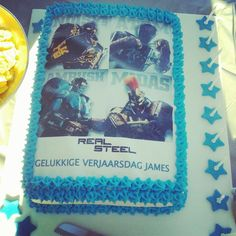 James Real Steel Cake