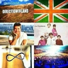 The land of directioners. HAHAHAHAH>>>>>> honestly I can't be more proud, they would be the princes anyways and the haters are peasants