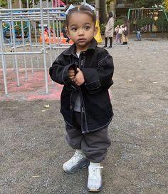 Dream Kardashian, Kim Kardashian Kanye West, Kardashian Jenner, Cute Mixed Babies, Cute Babies, Kids Yeezys, Baby Boy Outfits, Kids Outfits, Jenner Kids