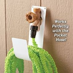 Hose Holder you could make from used plastic