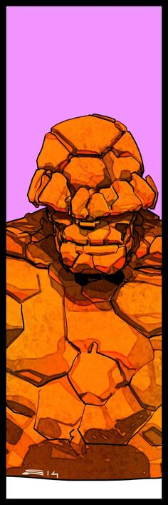 Ben Grimm - The Thing by Carmine Di Giandomenico