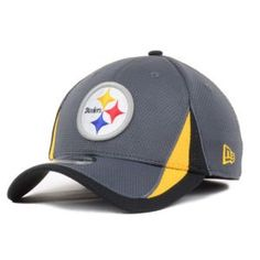 NFL Pittsburgh Steelers 13 Graphite Training 3930 Cap SmallMedium * Learn more by visiting the image link.