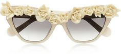 Karlsson Anna-Karin Cause I Flippin' Can cat eye acetate sunglasses   #Chic Only #Glamour Always