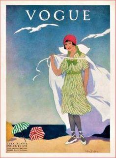 Vogue ~ July 15, 1912 (140 pieces)