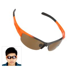 Why not to have a cool #bike running #sunglasses? This one may surprised you with the good quality and unique appearance. Polarized lenses also can be against strong sunlight. A nice one for you!>>>>>>> http://www.tomtop.cc/vUJn6z