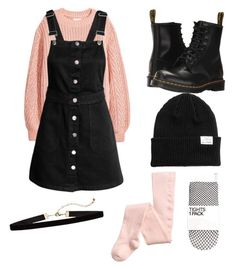 """Pastel Goth"" by lilmisconduct on Polyvore featuring Dr. Martens"