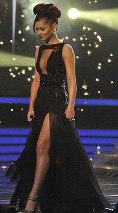 Cheryl Cole in Georges Chakra, 2010