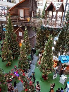 Malaysia Truly Asia, Christmas Tree, Cabin, House Styles, Holiday Decor, Home Decor, Teal Christmas Tree, Holiday Tree, Cabins