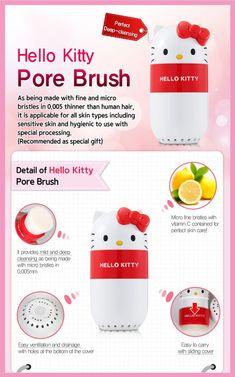 I Feel We All Need A Hello Kitty Pore Brush | http://www.musingsofamuse.com/2016/01/i-feel-we-all-need-a-hello-kitty-pore-brush.html